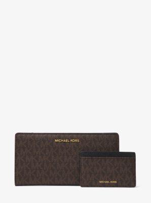 마이클 마이클 코어스 Michael Michael Kors Logo Slim Wallet