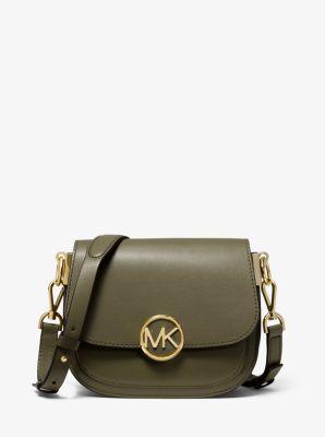 마이클 마이클 코어스 릴리백 스몰 새들백 Michael Michael Kors Lillie Small Leather Saddle Bag