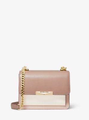 마이클 마이클 코어스 Michael Michael Kors Jade Extra-Small Tri-Color Leather Crossbody Bag