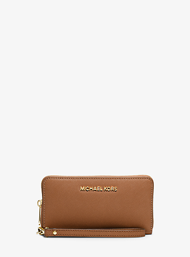 Jet Set Travel Large Smartphone Wristlet by Michael Kors