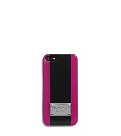 Center-Stripe Plastic Phone Case
