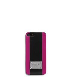 Center-Stripe Plastic Phone Case