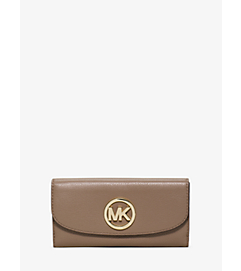 Fulton Carryall Leather Wallet by Michael Kors