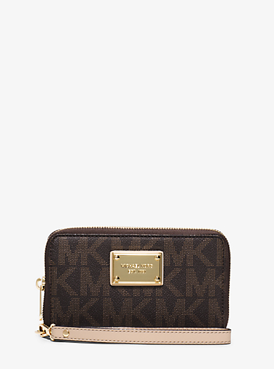 Jet Set Large Smartphone Wristlet by Michael Kors