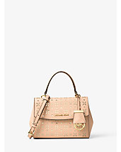 Ava Extra-Small Perforated-Leather Crossbody