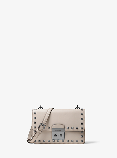 Sloan Small Studded Leather Crossbody by Michael Kors
