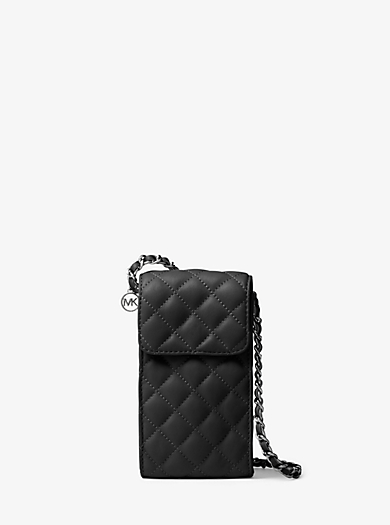 Sloan Quilted-Leather Smartphone Crossbody by Michael Kors