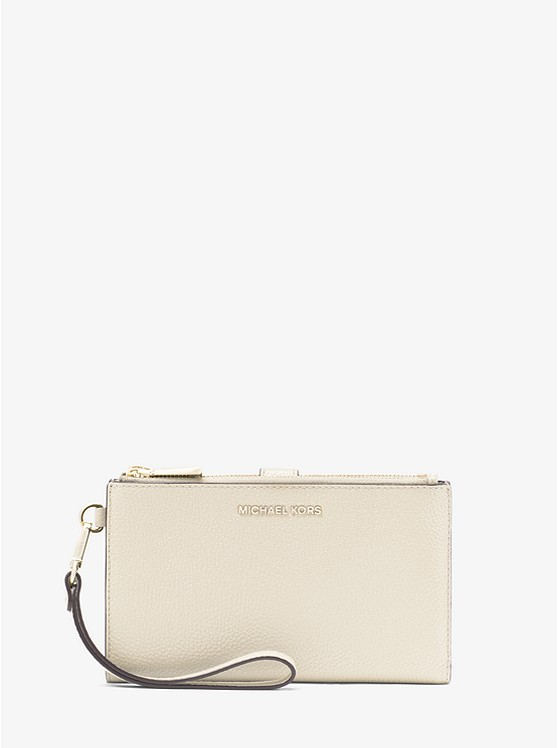 Adele Pebbled Leather Smartphone Wallet | Michael Kors