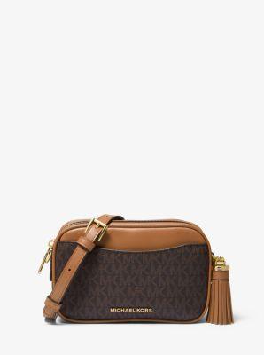 마이클 마이클 코어스 벨트백 Michael Michael Kors Logo Convertible Belt Bag,BRN/ACORN