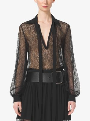 Chantilly Lace Blouse by Michael Kors