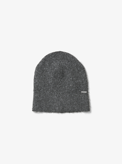 Striped Boiled-Wool Beanie by Michael Kors