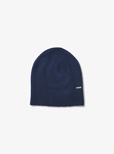 Boiled-Wool Beanie by Michael Kors