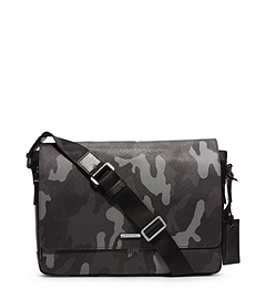 Jet Set Men's Camouflage Messenger Bag