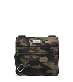Windsor Camouflage Flat Crossbody Bag