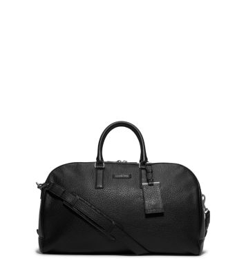 20a899fc947d Bryant Pebbled-Leather Duffle