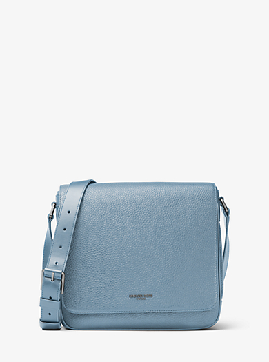 Bryant Medium Leather Crossbody by Michael Kors