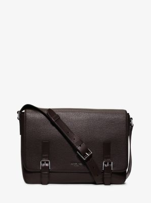 Bryant Large Leather Messenger by Michael Kors