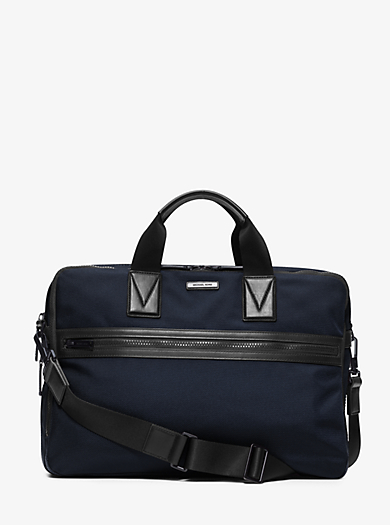 Parker Large Nylon Briefcase by Michael Kors