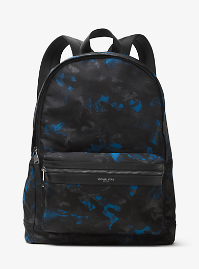 Kent Camouflage Nylon Backpack by Michael Kors