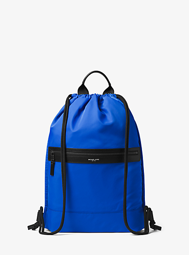 Kent Nylon Drawstring Backpack by Michael Kors