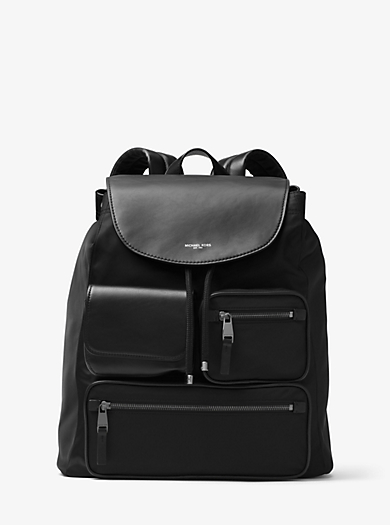 Kent Nylon Cargo Backpack by Michael Kors