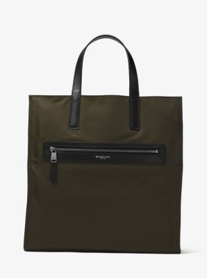 Kent Reversible Camouflage Nylon Tote          by Michael Kors