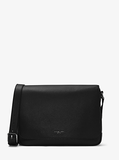 Bryant Medium Leather Messenger by Michael Kors