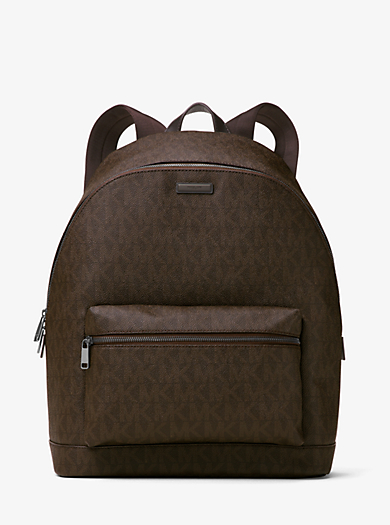 Jet Set Logo Backpack by Michael Kors