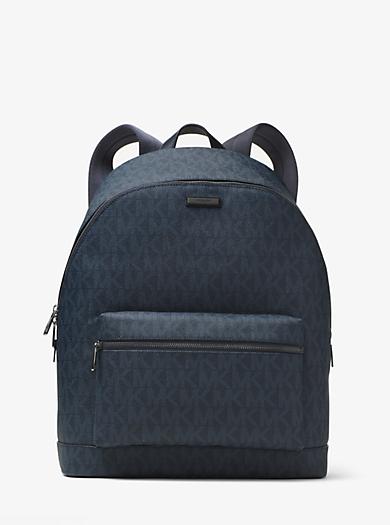Jet Set Logo Backpack by Michael Kors