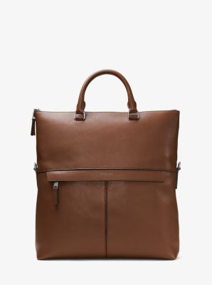 Owen Leather Tote by Michael Kors
