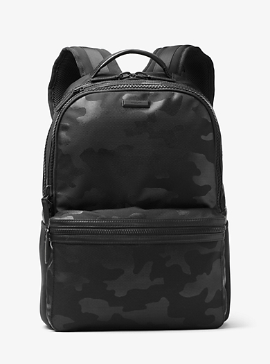 Parker Camouflage Nylon Backpack  by Michael Kors