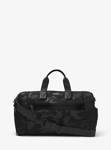 Parker Camouflage Nylon Gym Bag  by Michael Kors