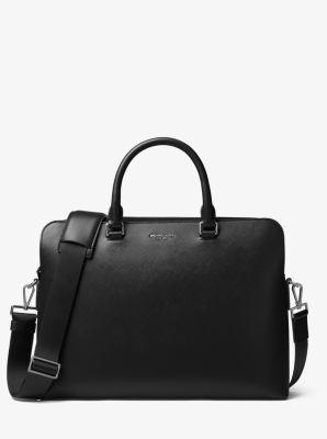 마이클 코어스 해리슨 서류 가방 Michael Kors Harrison Leather Briefcase