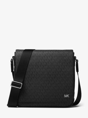 마이클 코어스 로고 메신저백 블랙 Michael Kors Jet Set Logo Messenger,BLACK