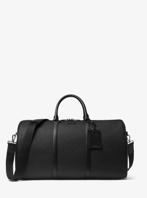 마이클 코어스 Michael Kors Jet Set Logo Duffel,BLACK