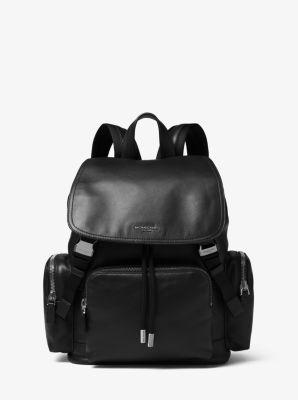 마이클 코어스 헨리 백팩 블랙 Michael Kors Henry Leather Backpack,BLACK