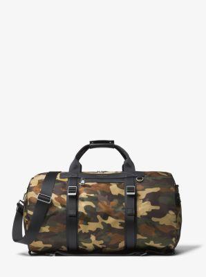 마이클 코어스 켄트 더플백 올리브 Michael Kors Kent Camouflage Nylon Convertible Duffel,OLIVE