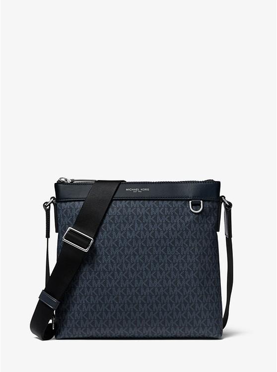 Greyson Logo Messenger Bag | Michael Kors