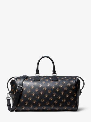 마이클 코어스 맨 더플백 Michael Kors Mens Kennedy Studio 54 Calf Leather Duffel Bag,SUNTAN