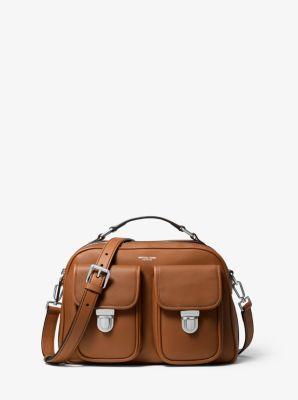 마이클 코어스 맨 카메라백 Michael Kors Kennedy Calf Leather Camera Bag,LUGGAGE