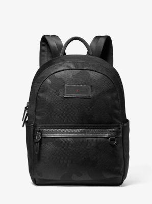 마이클 코어스 백팩 Michael Kors KORS X TECH Camouflage Backpack,BLACK