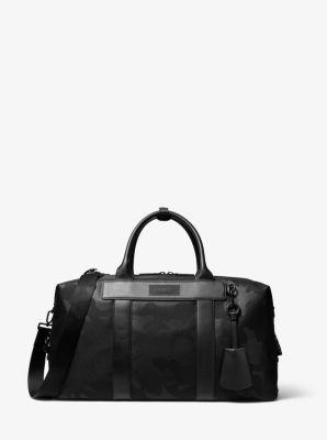 마이클 코어스 더플백 Michael Kors KORS X TECH Camouflage Duffel Bag,BLACK