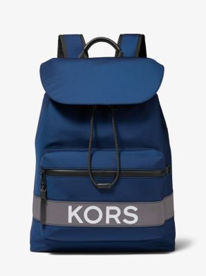Michael Kors KORS Nylon and Leather Backpack