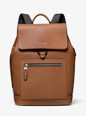 마이클 코어스 맨 허드슨 백팩 Michael Kors Mens Hudson Pebbled Leather Backpack