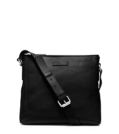 Bryant Slim Leather Messenger