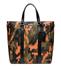 Jet Set Men's Camouflage Large Tote