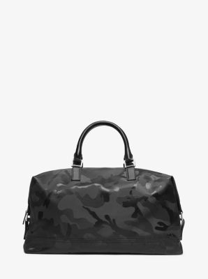 Kent Camouflage Nylon Duffel by Michael Kors