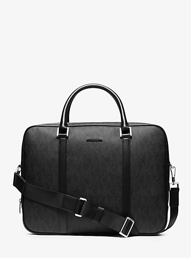 Jet Set Travel Large Logo Briefcase by Michael Kors