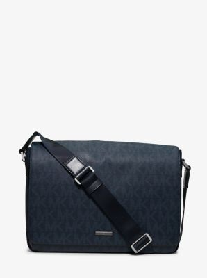 Jet Set Large Logo Messenger by Michael Kors