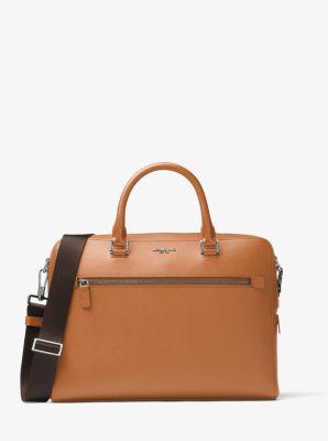 마이클 코어스 해리슨 미디움 서류 가방 마이클 코어스 Michael Kors Harrison Medium Leather Briefcase